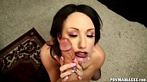 Dirty Jennifer White Sucks a Big Cock thumb