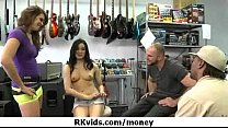 Desperate teen naked in public and fucks to pay rent 21