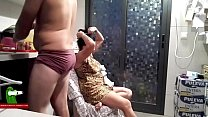 He Eats Her Hairy Pussy And Then Fucks Her On The Chair Adr028