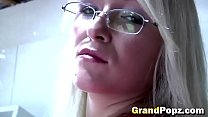Blondie Takes Care Of An Old Dick