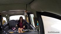 Amazing babe anal fucked in fake taxi thumbnail