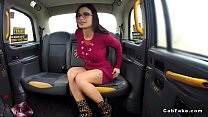 Amazing babe anal fucked in fake taxi video