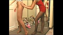 Hely1 With Friend In Sheer Pantyhose