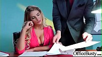 (August Ames) Naughty Slut Big Tits Girl Get Nailed In Office vid-03's thumb