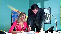 (August Ames) Naughty Slut Big Tits Girl Get Nailed In Office vid-03 - Download mp4 XXX porn videos