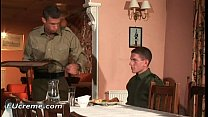 11582 Gay sex in the military kitchen gay sex preview