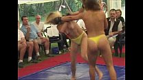 10220 Topless women fight preview
