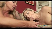 Mom And Daughter Threesome 0631