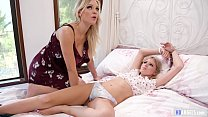 Image: MOMMY'S GIRL - Mommy and lesbian step daughter - Scarlett Sage and Kenzie Taylor