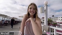 Real Teens - Teen POV pussy play in public Thumbnail