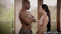 BLACKED First Big Black Cock For Teen Cyrstal Rae image