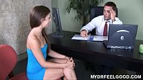 Screenshot Teen Sophie  is very unhappy with her small brea...