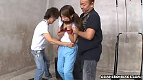Rika Kawamura can't stop moaning while getting forced to cum