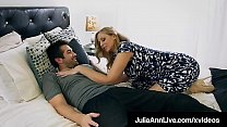 Mommy? Is that you? Hot Milf Julia Ann Face Fucks Step Son! pornhub video