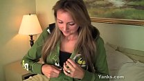 Chesty Yanks Milf Camille Rose Masturbating