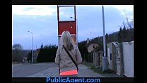 PublicAgent Jenkas hot body is bent over and fucked hard