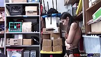 Shraddha Porn: Small teen shop employee busted stealing from the store thumbnail