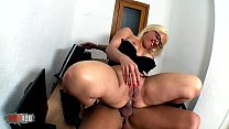 Hot chubby spanish slut hard asshole fucking thumb