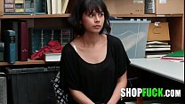 Thief Girl Was Busted And Fucked - SHOPFUCK