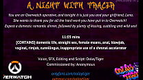 [OVERWATCH] A Night With Tracer| Erotic Audio P