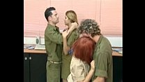 Israeli Soldier s Having An Orgy In Tha Base y In Tha Base