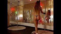 Cute girl dance and masturbate on cam - http://TwoCamsUp.com thumbnail