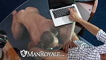 ManRoyale Double Holes Stuffed With Multiple Hunks
