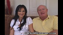 Cuckold Experience For Older Lady porn image
