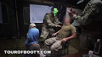 8067 TOUR OF BOOTY - Rogue Military Soldiers Sneak Arab Hookers On Base preview