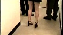 Slutty Wife Fucked in Hall Way by a Stranger Almost Caught [와이프 스와핑 공유 share wife NTR]