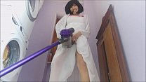 9691 Aunt Chantal is a good housewife but sometimes she lingers too much with the vacuum cleaner preview