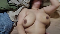 Thick Mexican Wife Big Floppy Tits Loses Bet Fucks Random Guy at Party