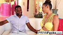 Indian MILF Priya Rai rides his BBC until he ex...