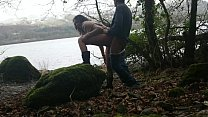 Shameless indian hottie has risky sex in public by the lake while strangers watch desi chudai POV Indian Vorschaubild