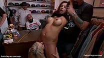 Big boobs MILF anal public pounded