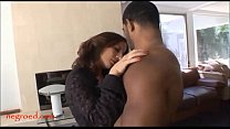 Negroed.com mature old mom with too much makeup takes black negro cock thumbnail