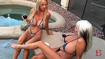 Two WHITE MILFs  and a BIG BLACK COCK Sally D'angelo Brooke Tyler - 9Club.Top