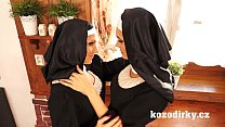 Screenshot Two Catholic Nuns Enjoying Lesbian Sex