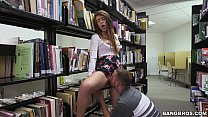 Teen Pussy in the Library thumbnail