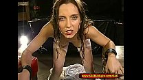 Pee And Cum for Dirty Young Slut In Chains - 66... thumb