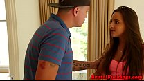 mature thighs » Bigass stepsister hardfucked and facialized thumbnail
