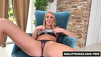 Cute blonde (Cadence Lux) shoes of her lil bush and getd fucked - Reality Kings