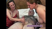 Swinging Mariah in a threesome with a petite MILF pornhub video