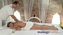 Massage Rooms Young tiny teen has deep intense orgasm image