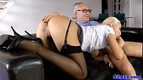 British amateur cocksucking oldman on couch