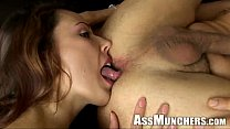 Ass licking Action
