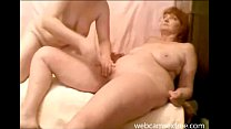 Real mature lesbian couple on cam preview image