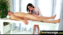 Teen massage gives stud happy ending 29 - 9Club.Top
