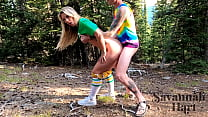 Fucking The Hot Blonde Camp Counselor In The Wo