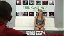 Casting teenie hardfucked in many poses